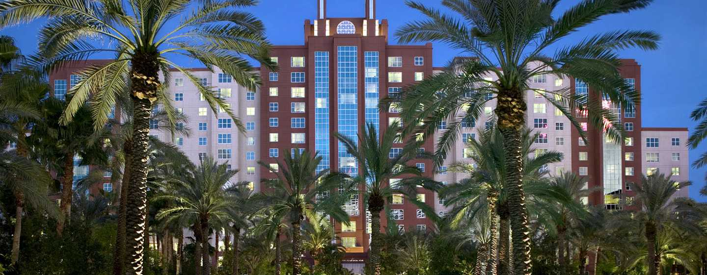 Hotel Hilton Grand Vacations at the Flamingo - Las Vegas, EUA - Exterior do hotel