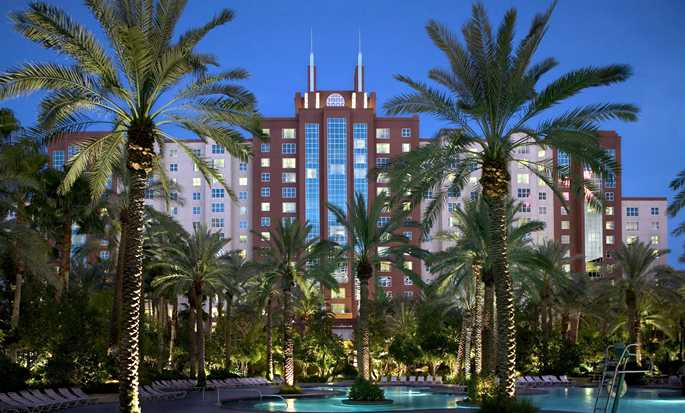 Hilton Grand Vacations at the Flamingo - Las Vegas, EE. UU. - Fachada del hotel