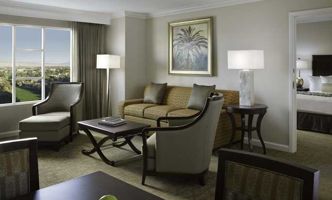 Hotel Hilton Grand Vacations on Paradise (Convention Center), Las Vegas, Nevada - Suite con dormitorio