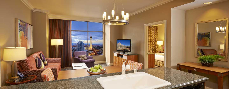Mejores hoteles de las vegas hgv las vegas boulevard for Sala de estar de un hotel