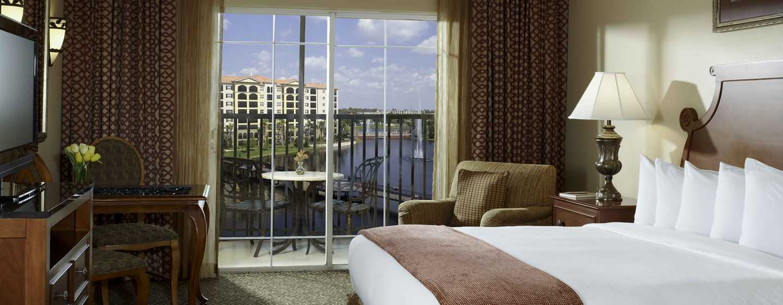 Hilton grand vacations international drive orlando resort for Cama grand king