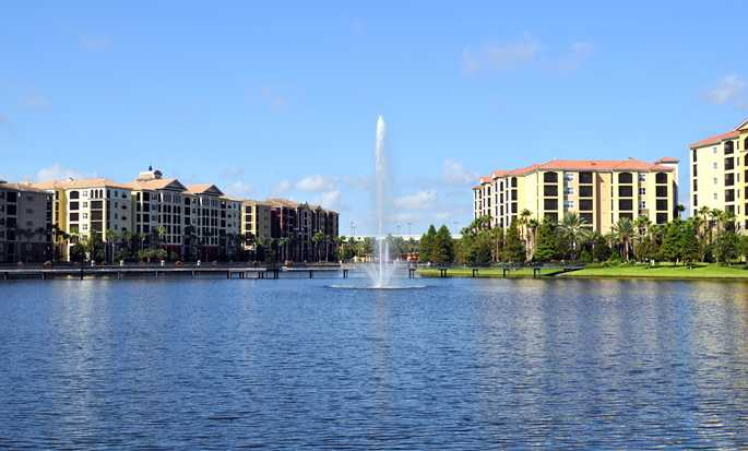 Hilton Grand Vacations at Tuscany Village hotel, Orlando - Exterior view
