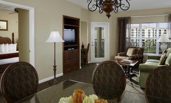 Hilton Grand Vacations at Tuscany Village hotel, Orlando - Suite Living Area