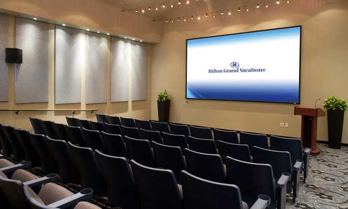 Hilton Grand Vacations at SeaWorld hotel, Orlando - Theater meeting room