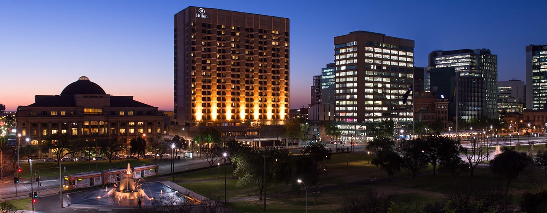 Hilton Adelaide - ภายนอกของโรงแรม