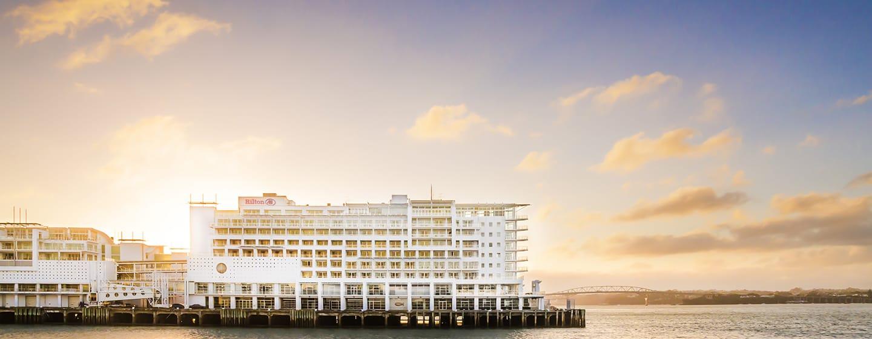 โรงแรม Hilton Auckland นิวซีแลนด์ - สถานที่ตั้งส่วนหน้าทะเล