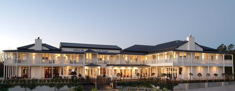 โรงแรมฮิลตันเลค เทาโป นิวซีแลนด์ - ภายนอกโรงแรม