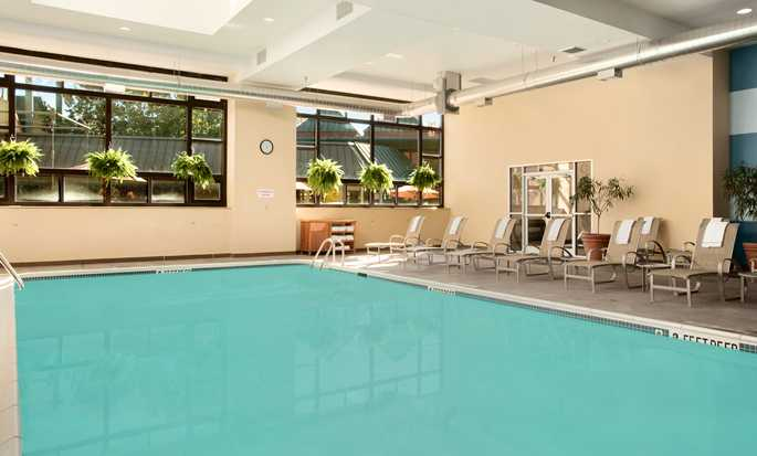 The Saratoga Hilton Hotel, Saratoga Springs, NY - Indoor pool