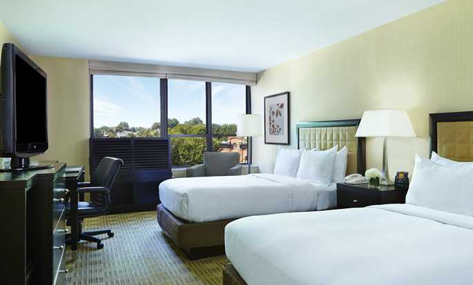 The Saratoga Hilton Hotel, Saratoga Springs, NY - Standard double room