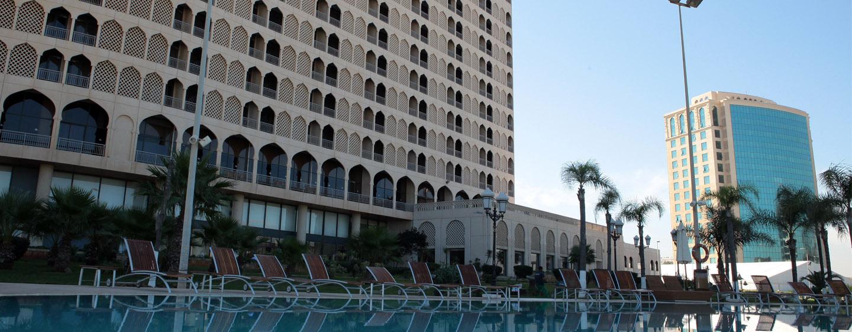 Hilton Algiers, Algerien – Außenansicht des Hilton Algiers