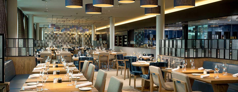 Hilton Amsterdam Airport Schiphol hotel, Nederland - Bowery Restaurant
