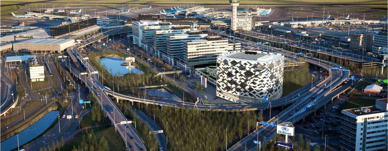 Parkeren en vliegen-arrangementen bij Hilton Amsterdam Airport Schiphol