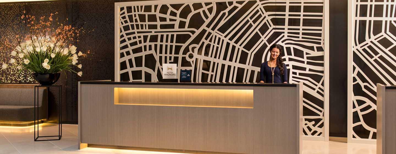 Hilton Amsterdam Airport Schiphol hotel, Nederland - Lobby