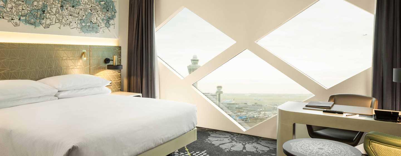 Hôtel Hilton Amsterdam Airport Schiphol, Pays-Bas - Chambre de luxe avec très grand lit