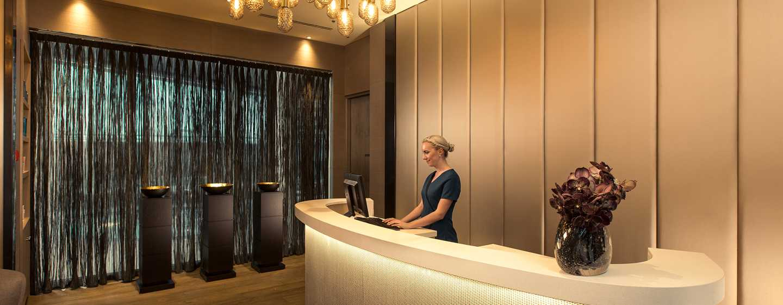 Hôtel Hilton Amsterdam Airport Schiphol, Pays-Bas - Réception du spa
