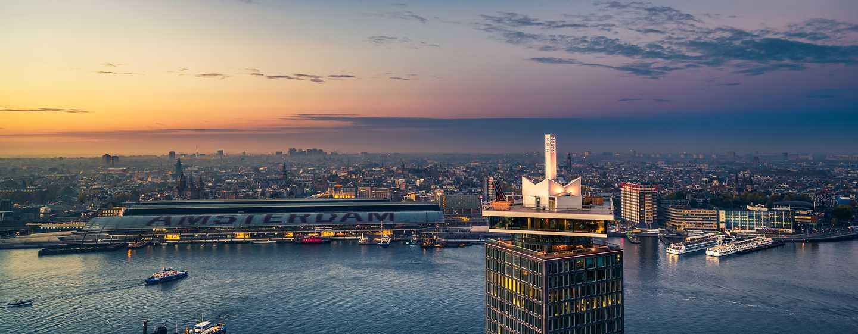 Hilton Amsterdam Airport Schiphol hotel, Nederland - A'dam Toren