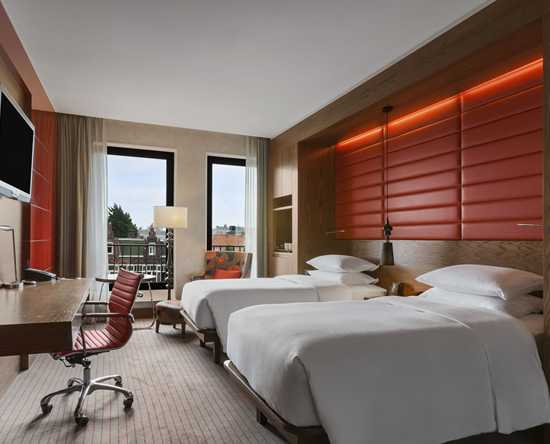 Hilton The Hague, Nederland - Twin Deluxe kamer