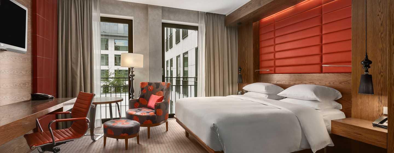 Hilton The Hague, Nederland - King kamer