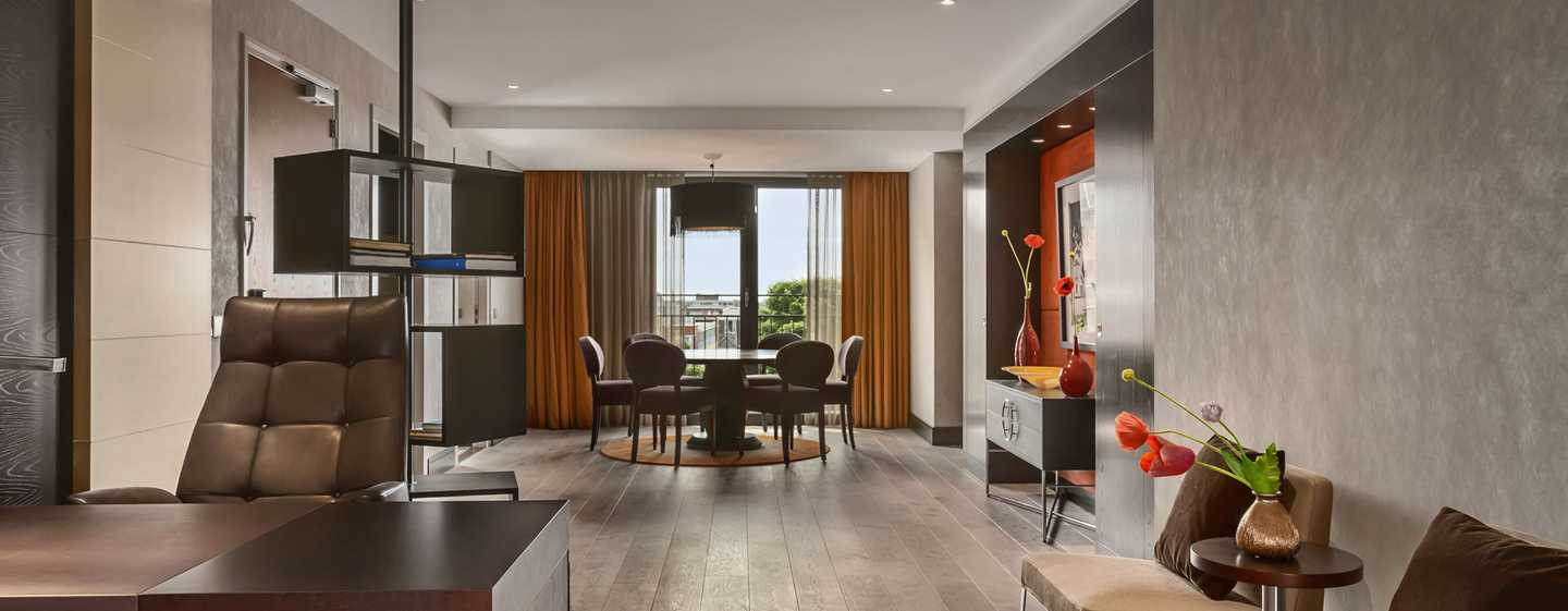 Hilton The Hague, Nederland - Woongedeelte Royal suite