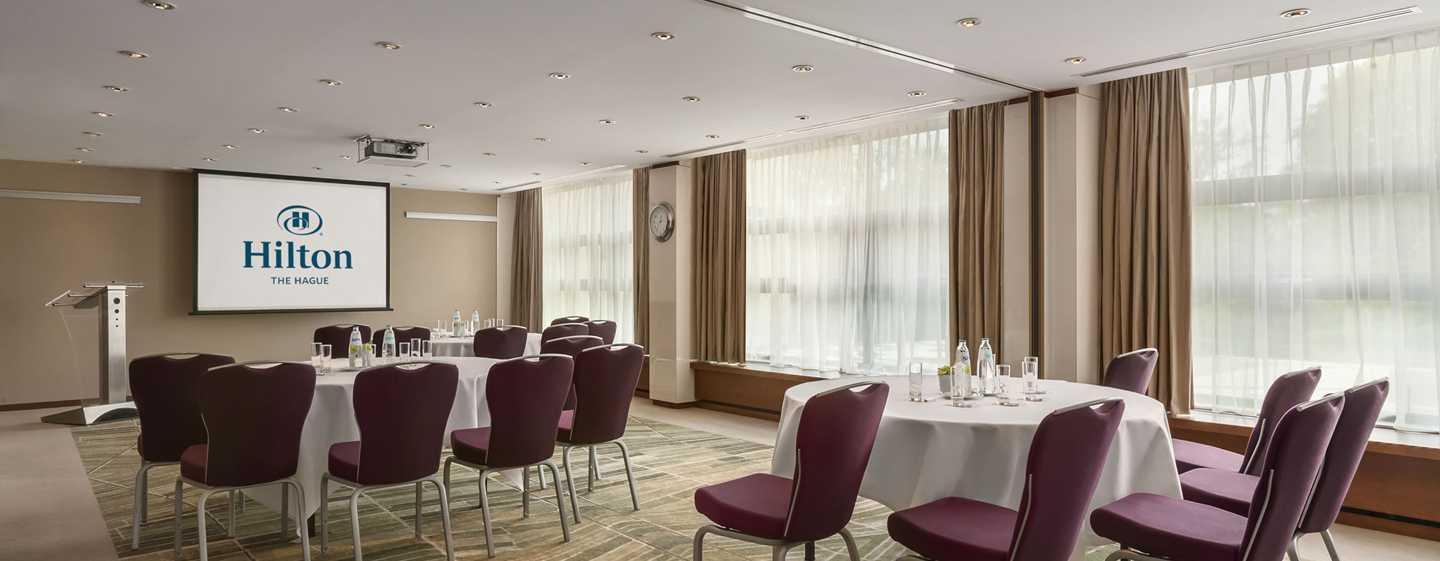 Hilton The Hague, Nederland - Vergaderzaal White