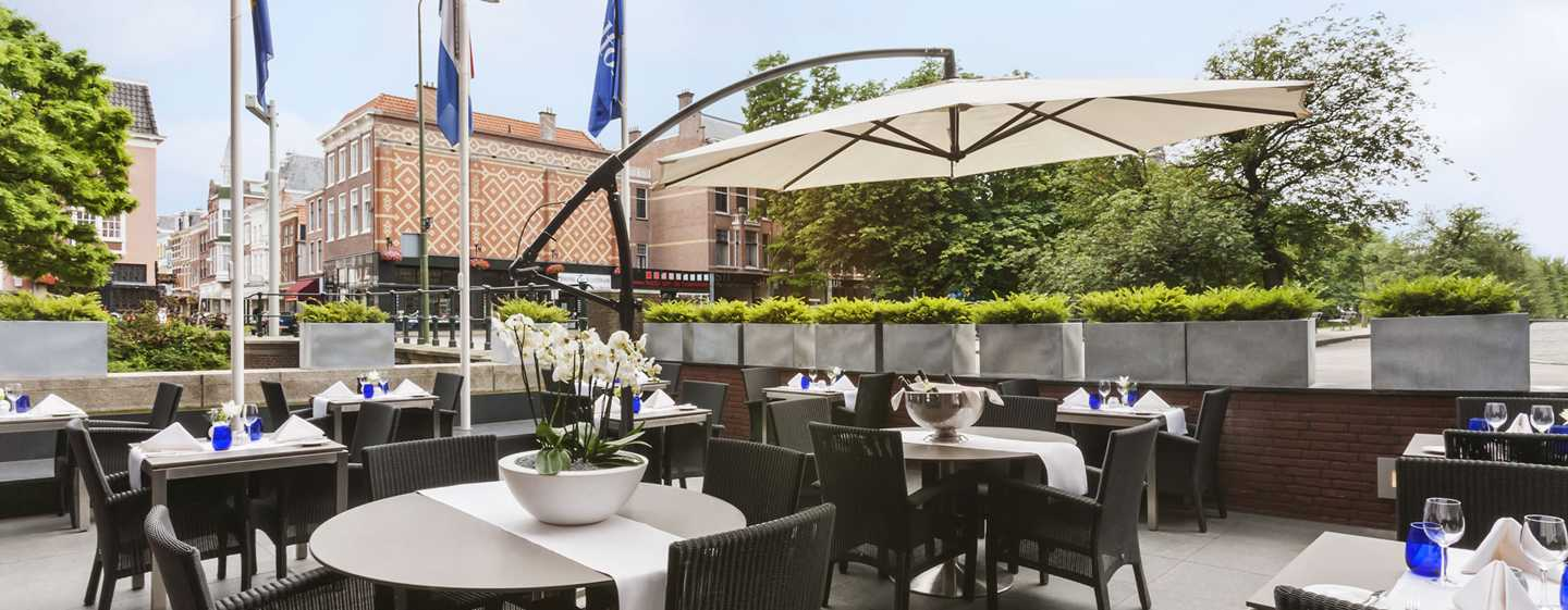 Hilton The Hague, Nederland - Terras Perl