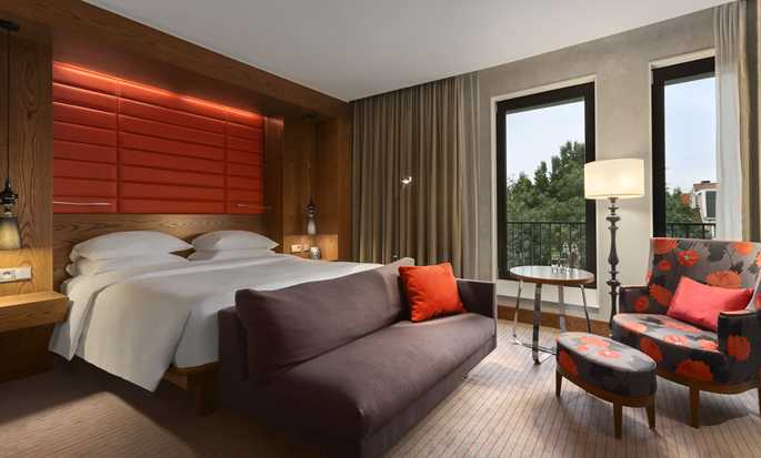 Hilton The Hague, Nederland - King Deluxe kamer