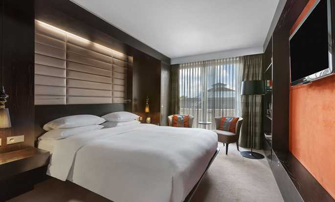 Hilton The Hague, Nederland - Slaapkamer Royal suite
