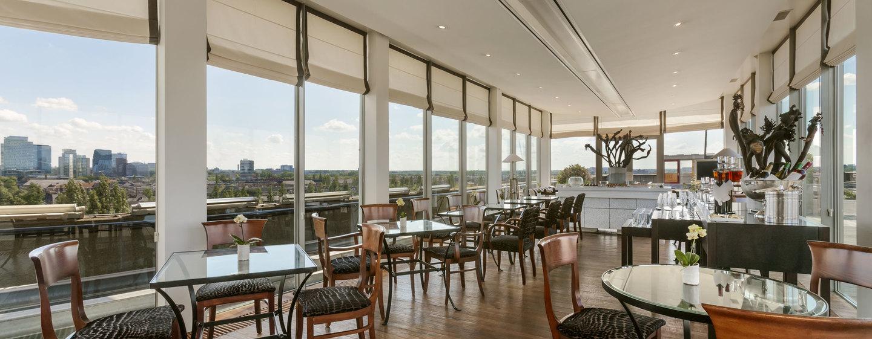 Hilton Amsterdam hotel, Nederland - Executive lounge