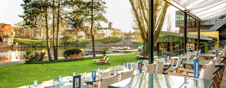 Hilton Amsterdam hotel, Nederland - Garden Terrace