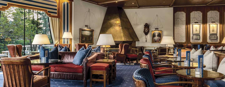 Hilton Amsterdam hotel, Nederland - Half Moon Lounge