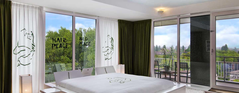 Hilton Amsterdam hotel, Nederland - John en Yoko suite