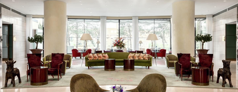 Hilton Amsterdam hotel, Nederland - The lobby