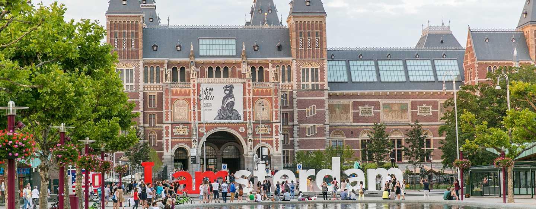Hilton Amsterdam hotel, Nederland - Rijksmuseum