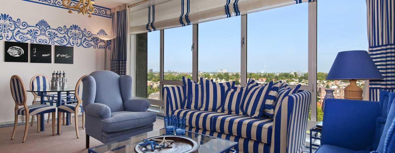 Hilton Amsterdam hotel, Nederland - Bedroom Neptune Suite