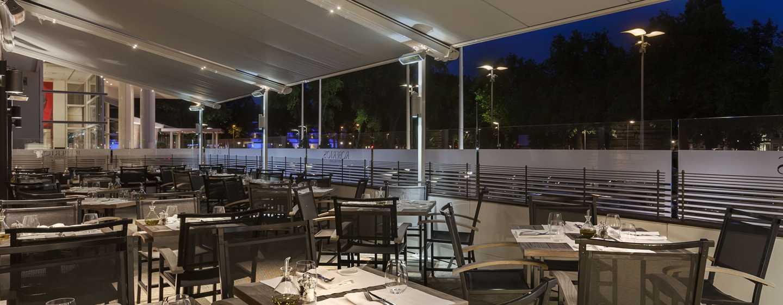 Hilton Amsterdam hotel, Nederland - Roberto's Restaurant