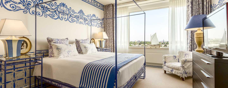 Hilton Amsterdam hotel, Nederland - Neptune suite
