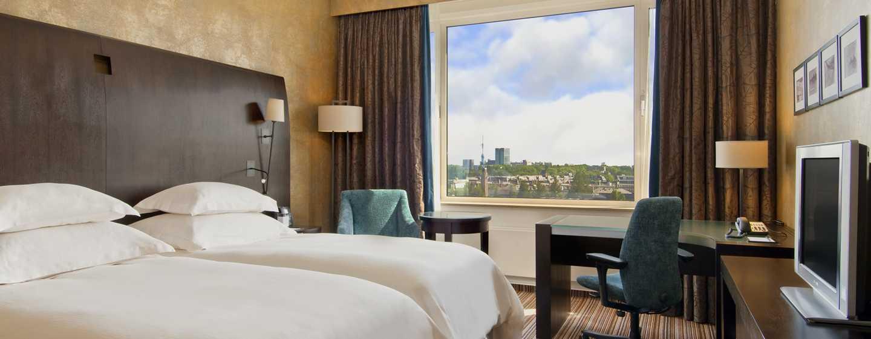 Hilton Amsterdam hotel, Nederland - Executive Plus kamer met lits-jumeaux
