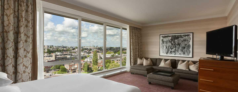 Hilton Amsterdam hotel, Nederland - Junior suite met kingsize bed