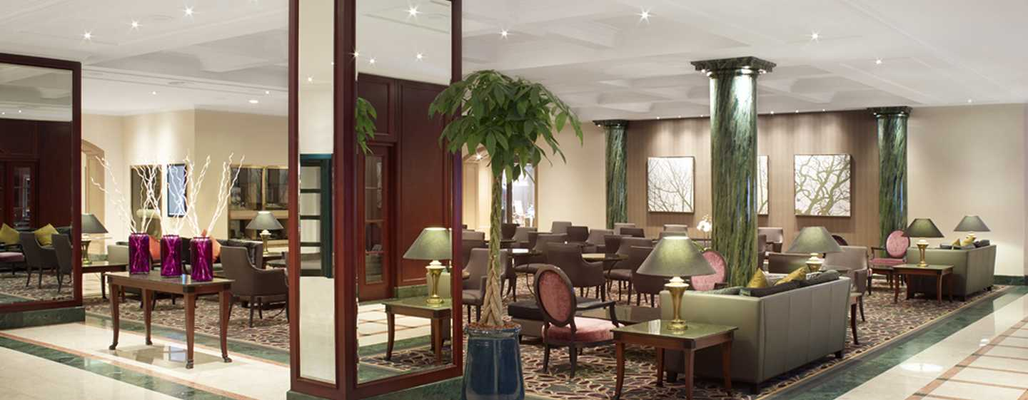 Hilton Antwerp Old Town Hotel, België - Lobbylounge