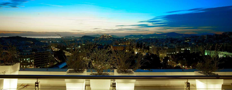 Hilton Athens – Veranda der Galaxy Bar