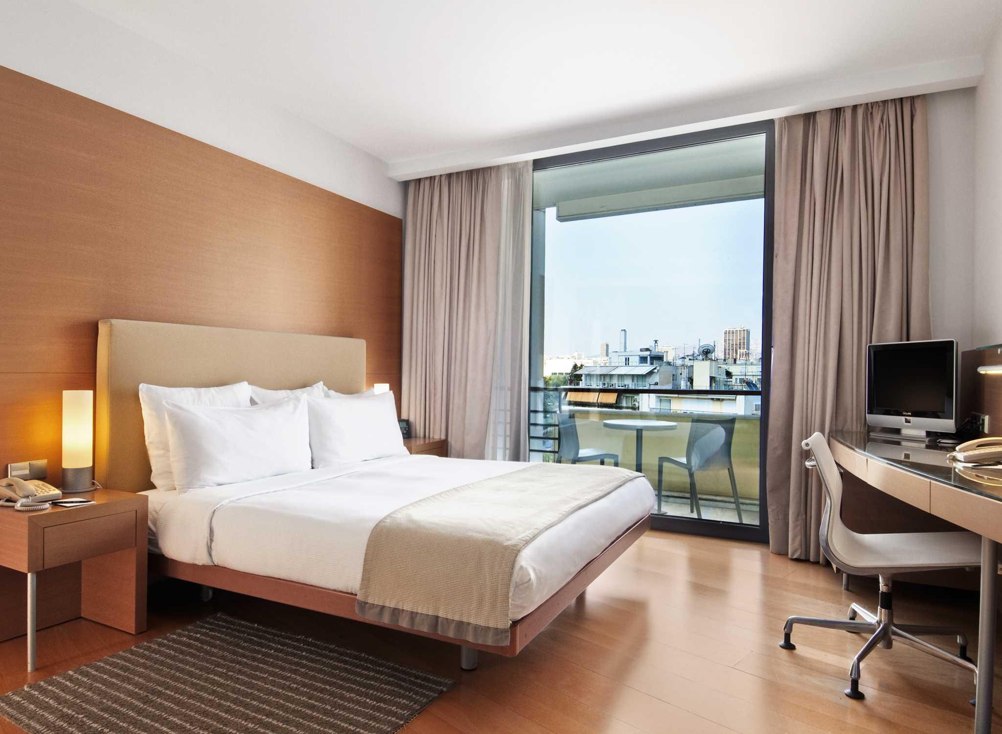 Hilton Athens Hotel Griechenland Zimmer Mit King Size Bett