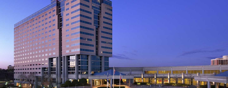 Hôtel Hilton Atlanta Airport, Géorgie - Extérieur