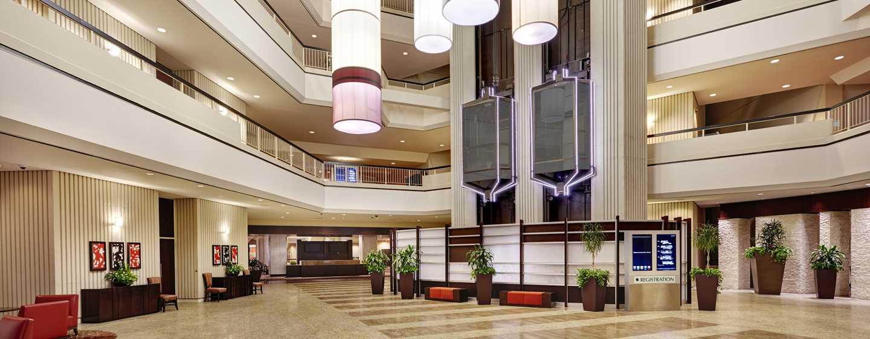 Hilton Atlanta Hotel, Georgia, USA. – Lobby