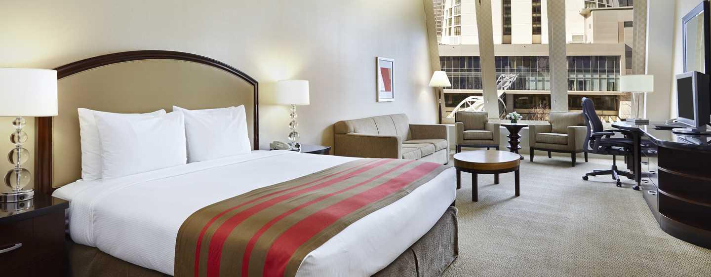 Hilton Atlanta Hotel, Georgia, USA. – King Studio