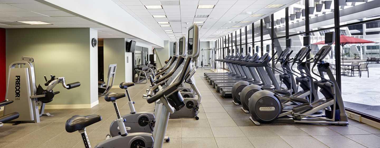 Hilton Atlanta Hotel, Georgia, USA. – Fitness Center