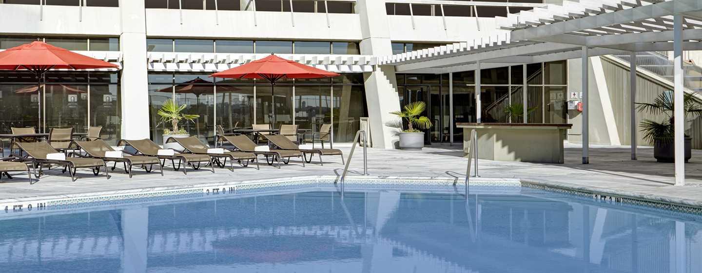 Hilton Atlanta Hotel, Georgia, USA. – Außenpool