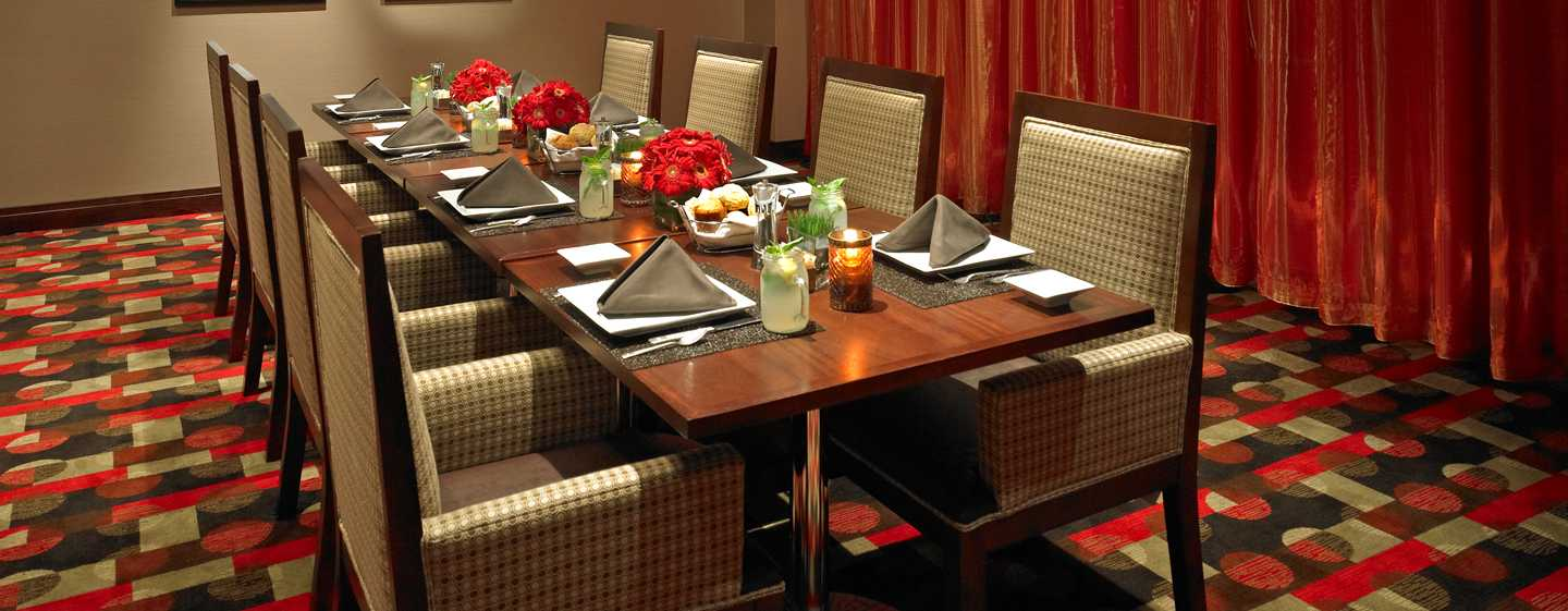 Hilton Atlanta Hotel, Georgia, USA. – Private Diners