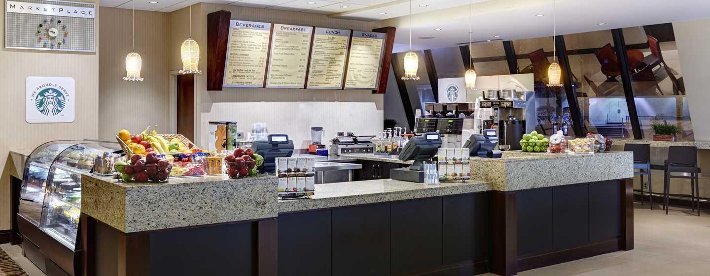 Hilton Atlanta Hotel, Georgia, USA. – Marktplatz