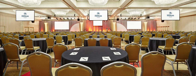 Hilton Atlanta Hotel, Georgia, USA. – Ballsaal