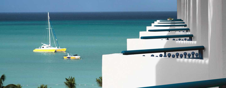 Hilton Aruba Caribbean Resort & Casino hotel, Aruba - Eigen balkons